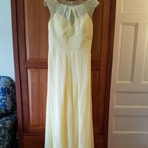 Dresses & Skirts - Light Yellow Formal Dress